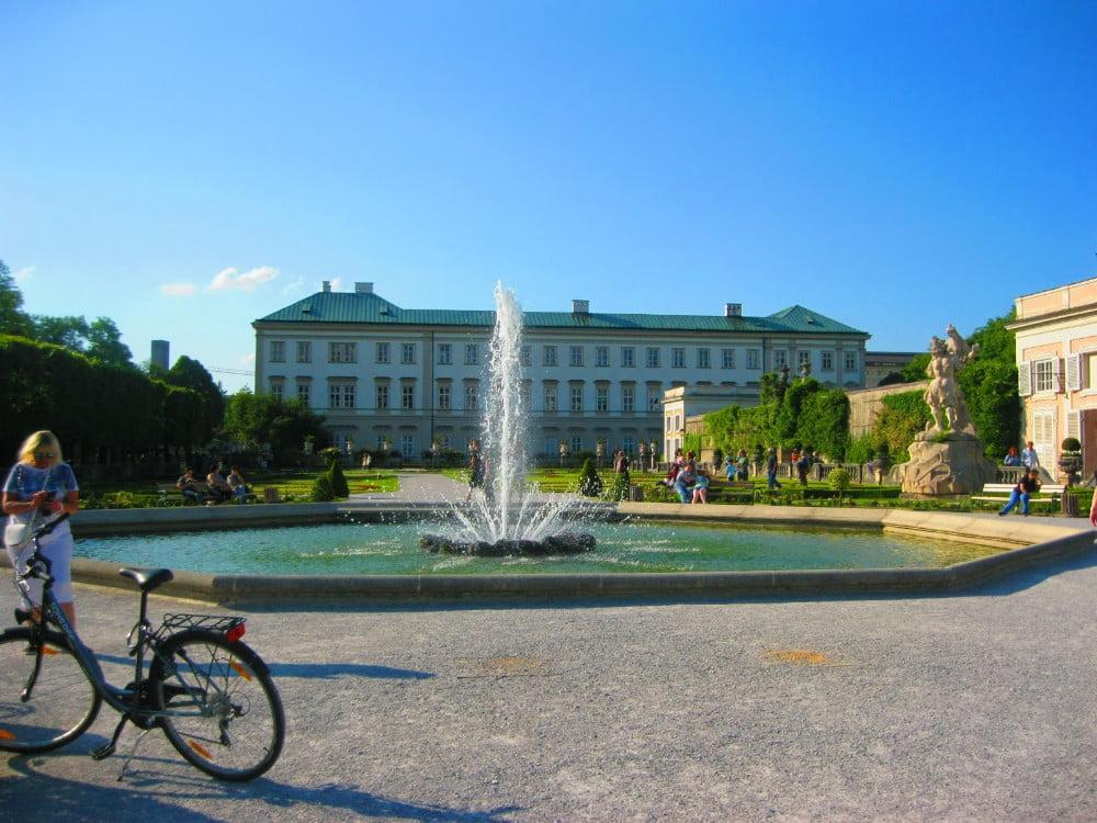 Mirabellgarten sin Salzburg