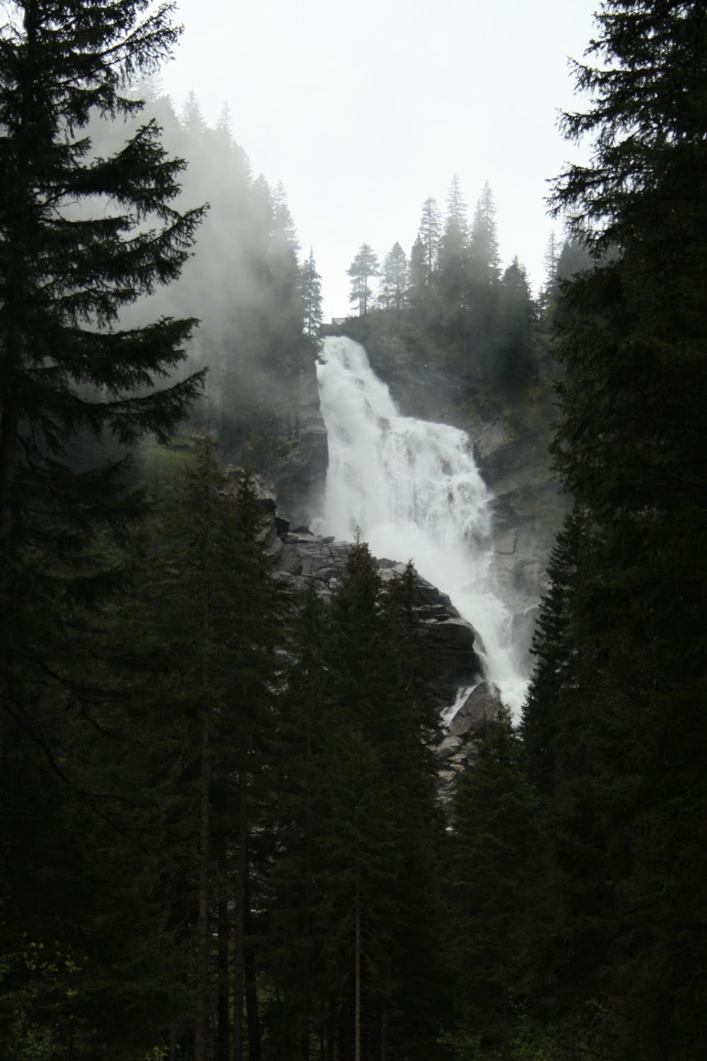 Krimmler waterval in Oostenrijk