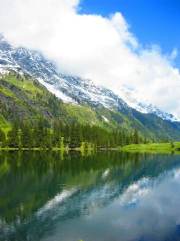 Prachtig landschap in Oostenrijk