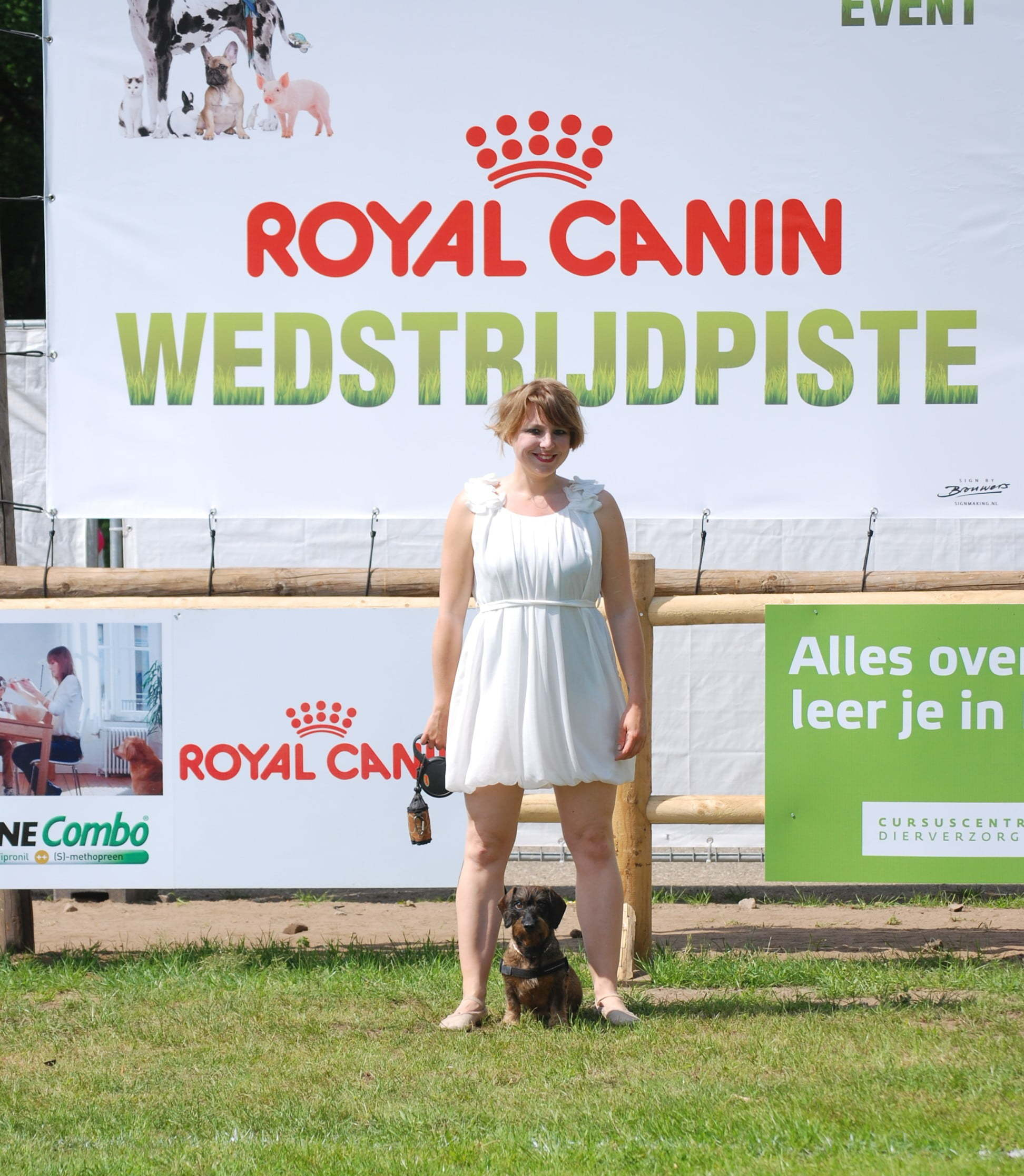 Met teckel op Animal Event
