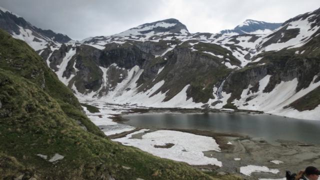Sneeuw bij de Grossglockner