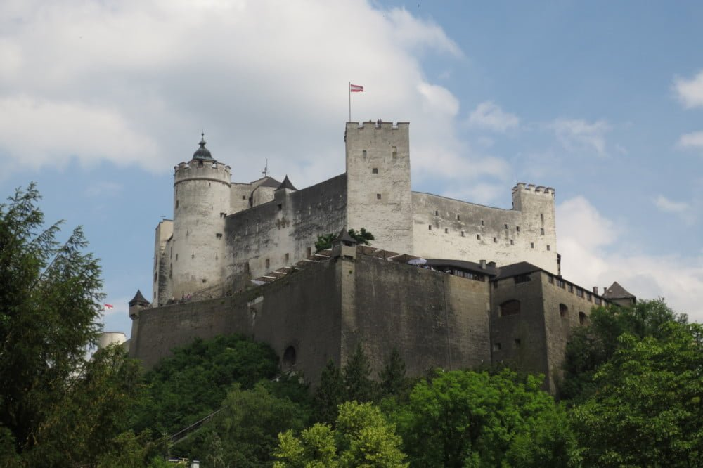 Vesting Hohensalzburg in Salzburg stad