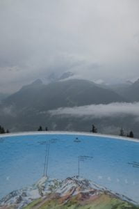Uitkijkpunt op de Col du Petit-Saint-Bernard
