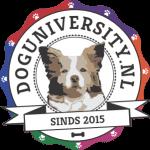 Logo van de Dog University