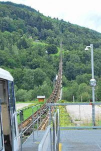 Funiculaire naar Les Arcs