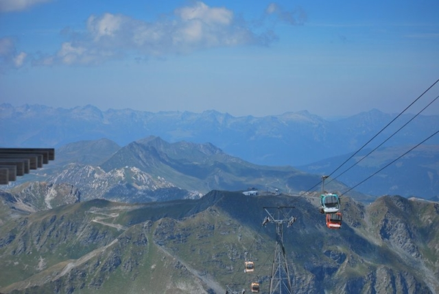 Uitzicht over de bergen
