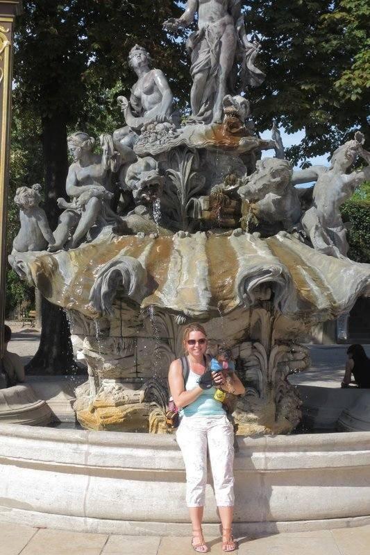 Met de hond in Nancy