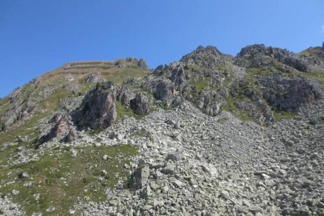 Op grote hoogte in de Alpen