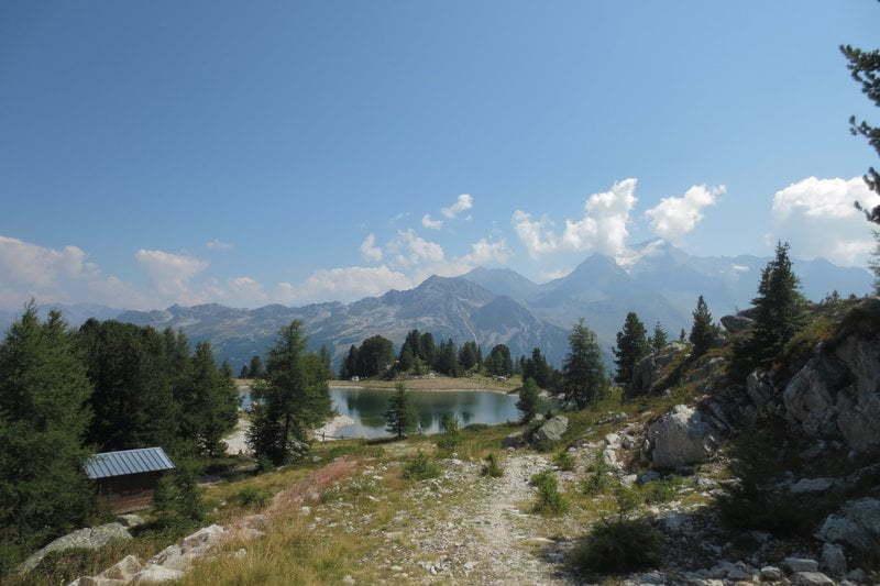 Bergmeer als grote beloning