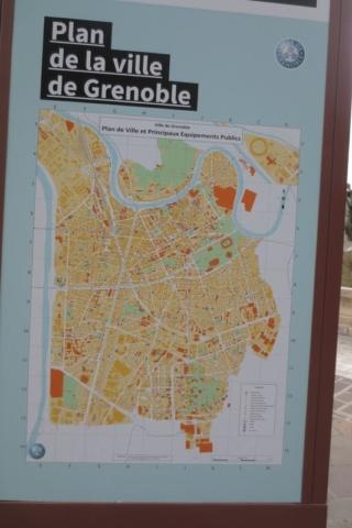 Stadsplattegrond van Grenoble