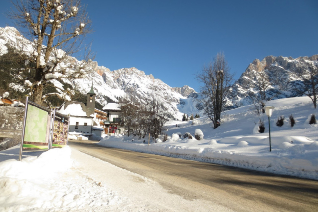 Zon en sneeuw in Oostenrijk
