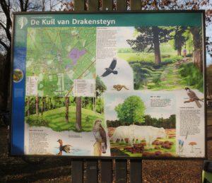 Informatiepaneel bij de Kuil van Drakensteyn