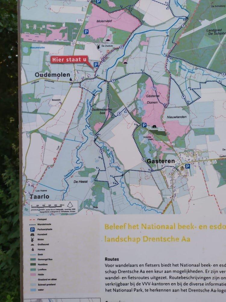 Wandelroute Oudemolense Diep