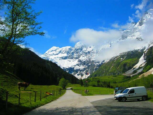 Wandelen bij de Hintersee in Oostenrijk