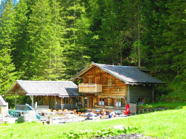 Berghut in Oostenrijk