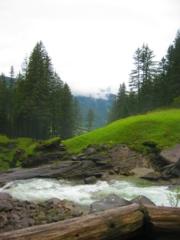 Waterstroom bij de Krimmler waterval