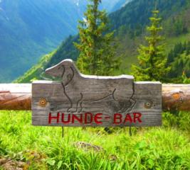 Hunde-bar in Oostenrijk