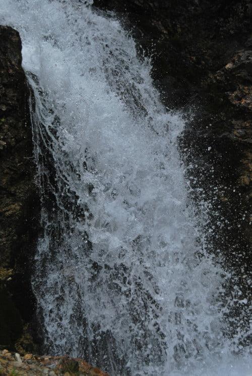 Waterval bij Les Arcs