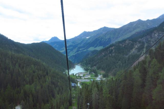 Uitzicht vanuit de gondel
