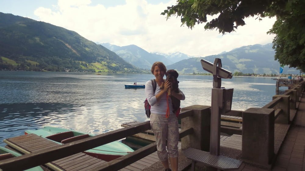 Met de hond in Zell am See