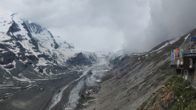 Gletsjer van de Grossglockner