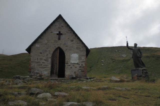 Kapelletje op de Col du Petit-Saint-Bernard