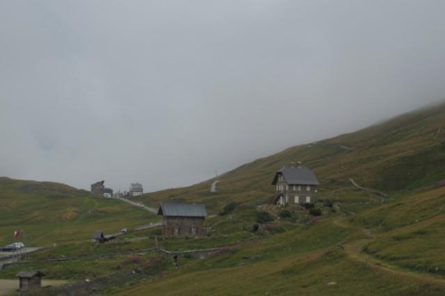 Met de hond op de Col du Petit-Saint-Bernard