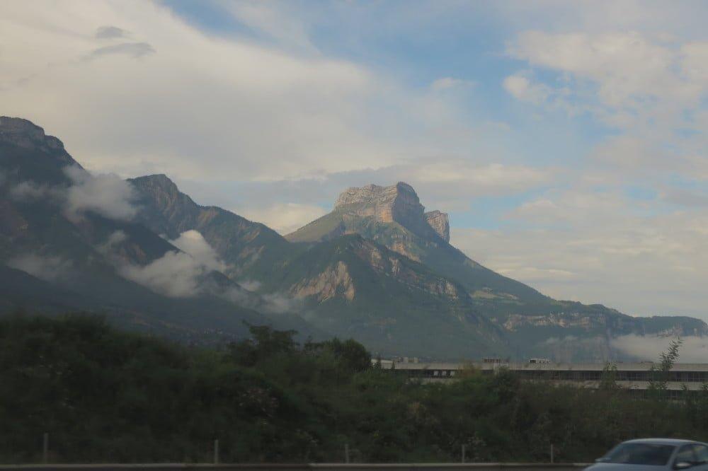 Dent des Crolles in de Franse Alpen