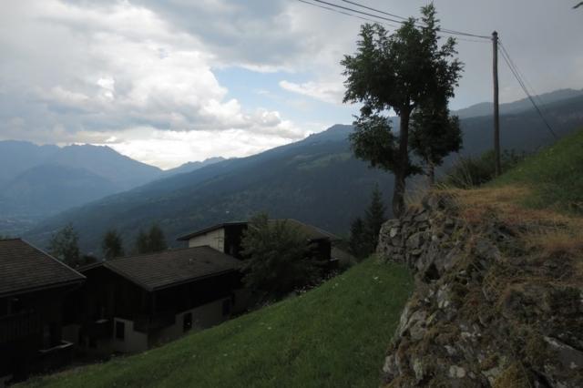 Uitzicht vanuit Montchavin