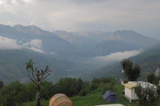 Onweer in Montchavin