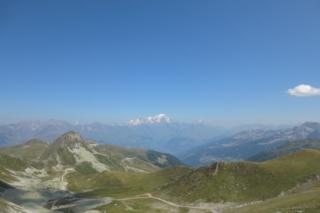 Mont Blanc in de verte