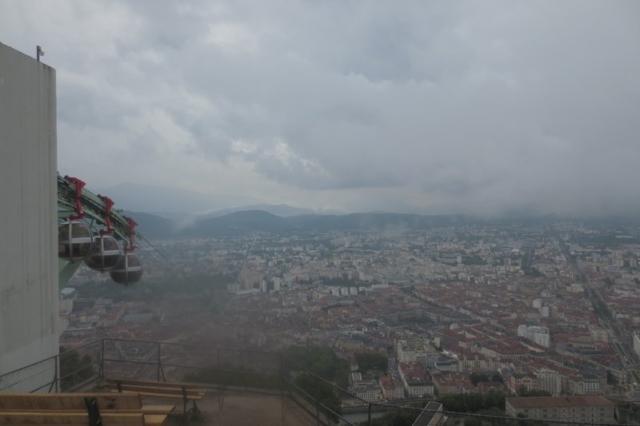 uitzicht over Grenoble