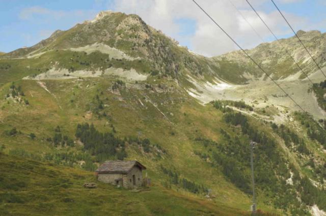 De Franse Alpen vanuit Les Arcs
