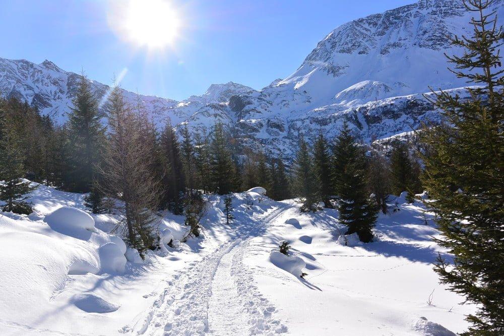 Sneeuwschoenwandelen in de Rauris