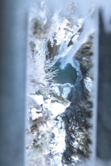 Waterval in Oostenrijk