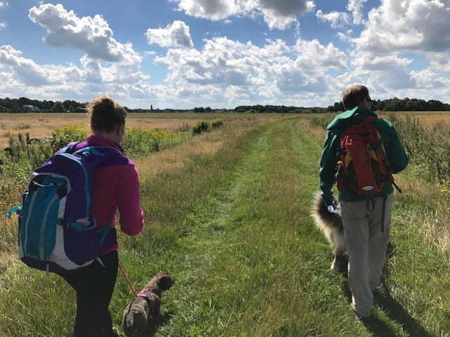 Schatzoekwandeling met de hond