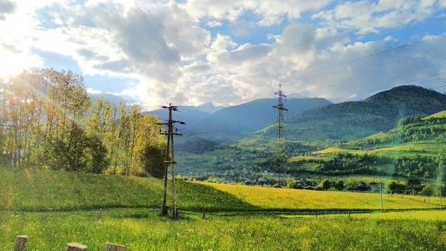 Zonlicht in de Oostenrijkse Alpen
